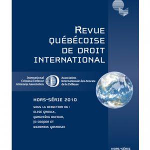 Hors-série 2010 - Association internationale des avocats de la défense (AIAD)